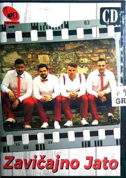 CD ZAVICAJNO JATO album 2017 novo folk muzika bn music etno narodna srbija bosna