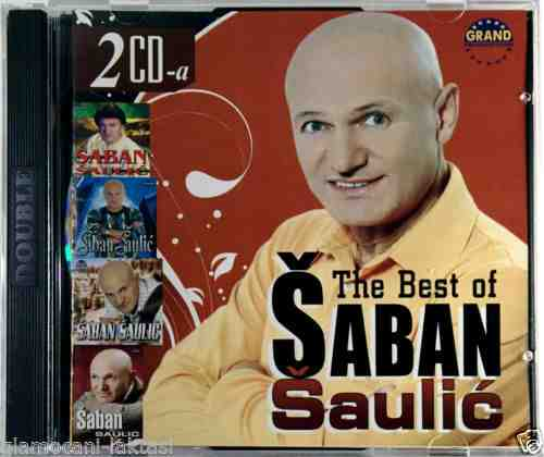2CD SABAN SAULIC THE BEST OF compilation 2008 grand folk srbija hrvatska bosna