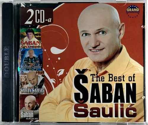 2CD SABAN SAULIC THE BEST OF compilation 2008 grand folk srbija hrvatska bosna