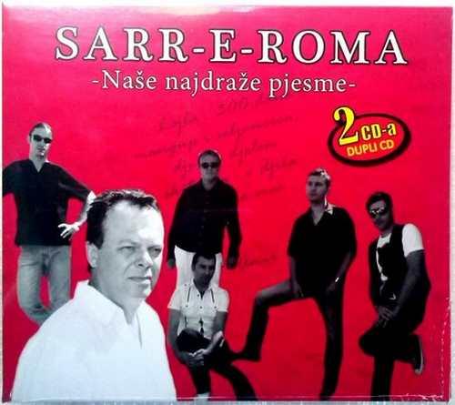 2CD SARR E ROMA  NASE NAJDRAZE PJESME compilation 2014 FOLK SERBIEN BOSNIEN