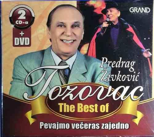 2CD+DVD TOZOVAC BEST OF 2013 PEVAJMO VECERAS ZAJEDNO KONCERT 2012