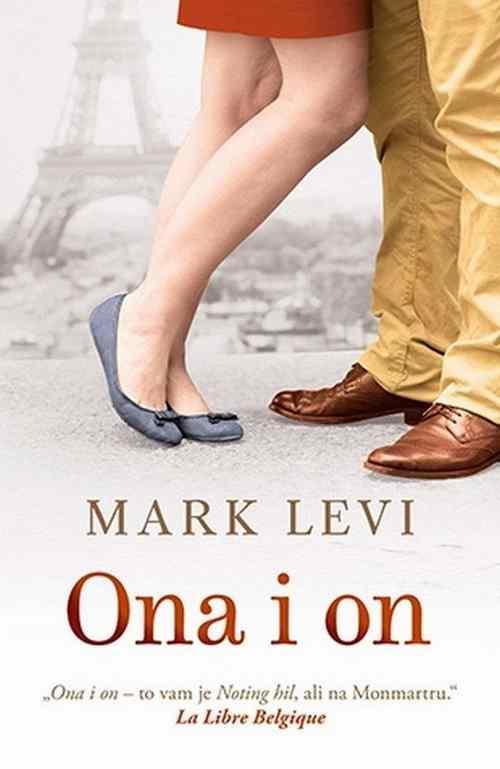 ONA I ON MARK LEVI knjiga 2017 laguna srbija novo ljubavni latinica roman balkan