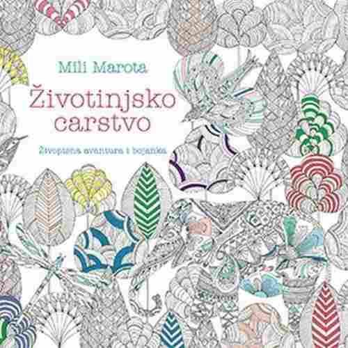 ZIVOTINJSKO CARSTVO MILI MAROTA knjiga 2017 laguna srbija novo bojanka latinica