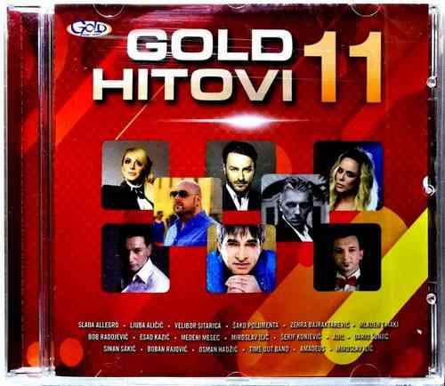 CD GOLD HITOVI 11 compilation 2017 polumenta alicic sinan sakic dario sunjic