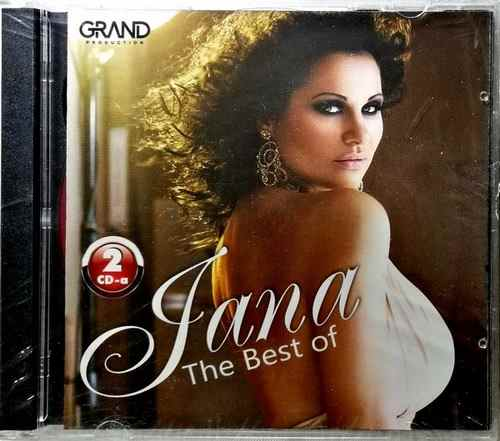 2CD JANA BEST OF compilation 2016 narodna muzika novo grand srbija hrvatska folk