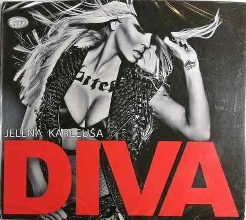 CD JELENA KARLEUSA DIVA ALBUM 2013 narodna srbija folk muzika narodnjaci novo