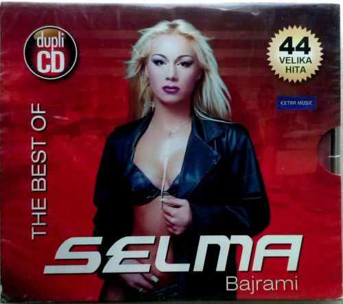 2CD SELMA BAJRAMI  THE BEST OF 44  VELIKA HITA  compilation 2011 extra music