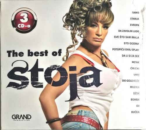CD STOJA THE BEST OF compilation 2017 narodna muzika grand production srbija new