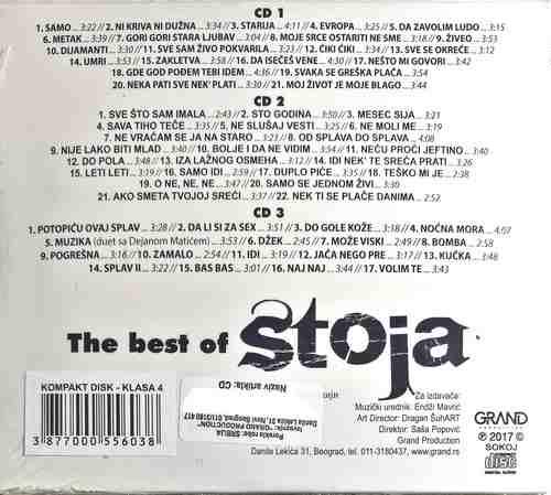 CD STOJA THE BEST OF compilation 2017 narodna muzika grand production srbija new