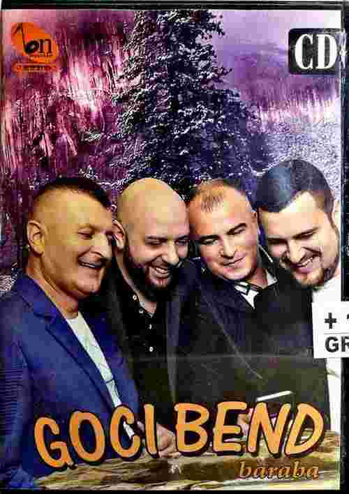 CD GOCI BEND BARABA album 2017 BN MUSIC narodna folk srbija bosna hrvatska