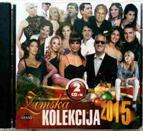 2CD ZIMSKA KOLEKCIJA 2015 compilation Grand Production Srbija Bosna, Hrvatska