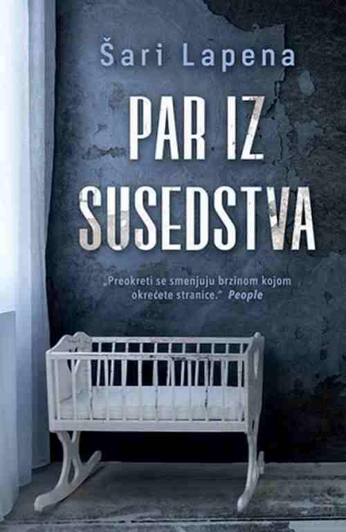 Par iz susedstva Sari Lapena knjiga 2017 triler laguna srbija hrvatska latinica