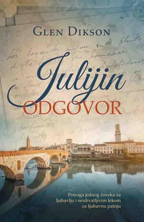 Julijin odgovor Glen Dikson knjiga 2017 ljubavni laguna srbija novo latinica