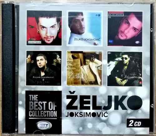 2CD ZELJKO JOKSIMOVIC The Best Of Collection 2017 ZABAVNA MUZIKA EURO SONG SRBIJA