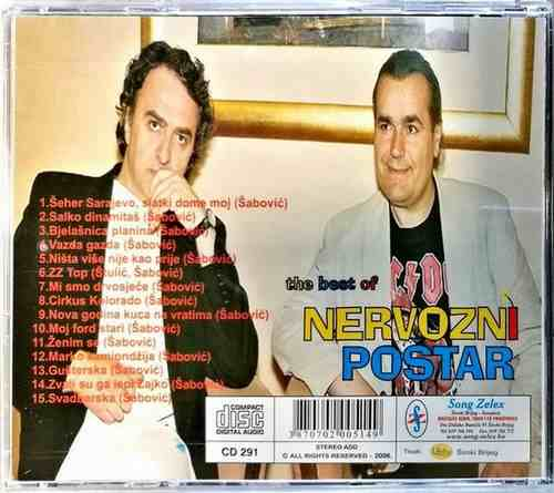 CD NERVOZNI POSTAR THE BEST OF KOMPILACIJA 2006 NARODNA GUSTERSKA SRBIJA FOLK