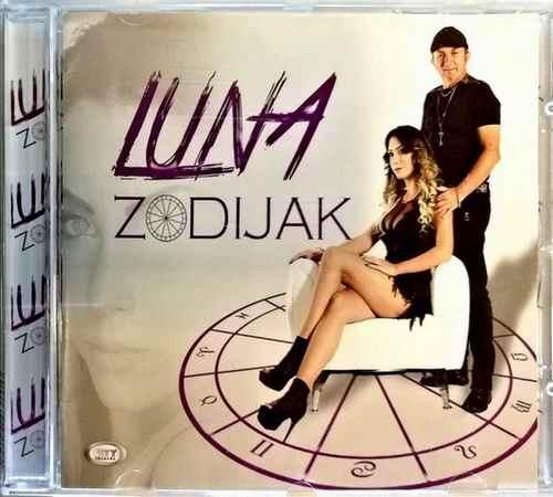 CD LUNA ZODIJAK ALBUM 2017 ZABAVNA MUZIKA SRBIJA BEOGRAD HRVATSKA CRNA GORA BIH