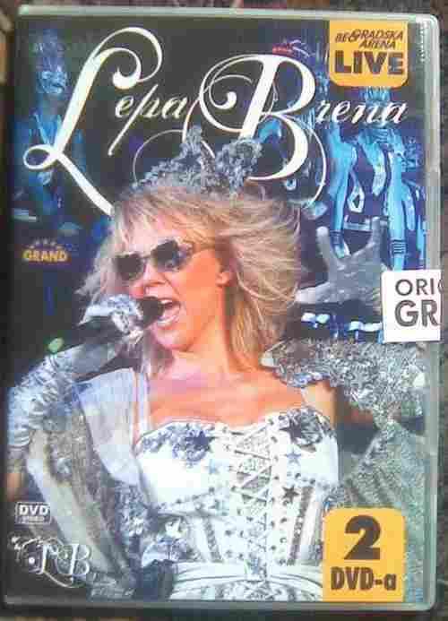 2DVD LEPA BRENA  BEOGRADSKA ARENA LIVE 2011 top