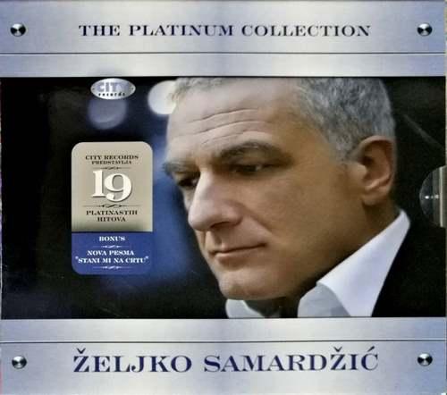 CD ZELJKO SAMARDZIC THE PLATINUM COLLECTION KOMPILACIJA 2007 ZABAVNA SRBIJA POP