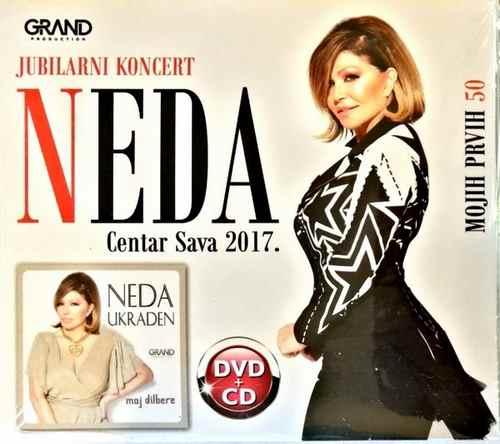 CD+DVD NEDA UKRADEN MOJIH PRVIH 50 KONCERT CENTAR SAVA I ALBUM MOJ DILBERE 2018