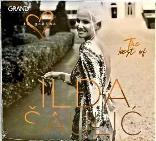 CD ILDA SAULIC THE BEST OF 2018 GRAND PRODUCTION FOLK NARODNA SRBIJA KOMPILACIJA