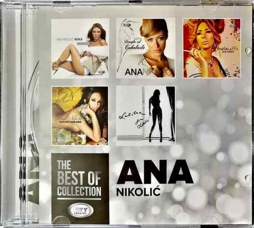 CD ANA NIKOLIC THE BEST OF COLLECTION kompilacija 2017 city records srbija bosna