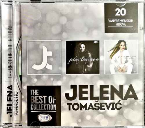 CD JELENA TOMASEVIC THE BEST OF COLLECTION kompilacija 2017 city records srbija