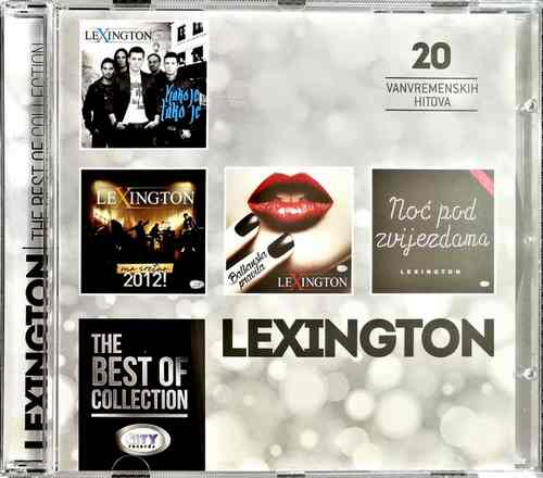 CD LEXINGTON THE BEST OF COLLECTION kompilacija 2017 city records srbija
