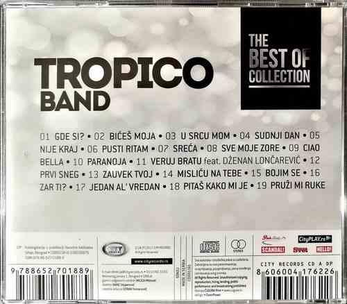 CD TROPICO BAND THE BEST OF COLLECTION kompilacija 2017 city records srbija