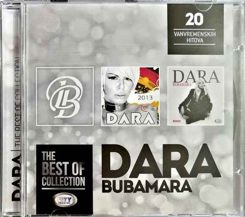 CD DARA BUBAMARA THE BEST OF COLLECTION kompilacija 2017 city records srbija