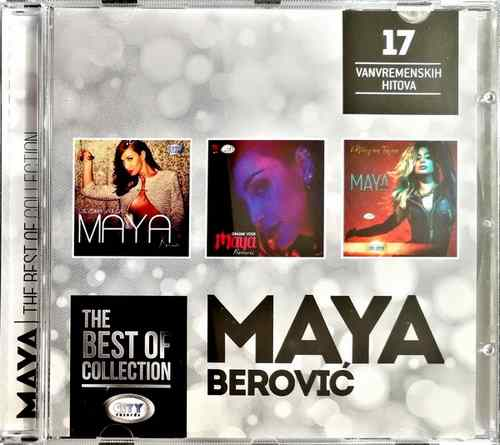 CD MAYA BEROVIC THE BEST OF COLLECTION kompilacija 2017 city records srbija