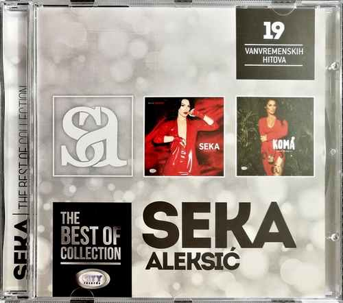 CD SEKA ALEKSIC THE BEST OF COLLECTION kompilacija 2017 city records srbija