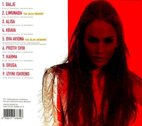 CD EMINA JAHOVIC DALJE ALBUM 2018 CITY RECORDS ZABAVNA POP NOVO HRVATSKA SRBIJA