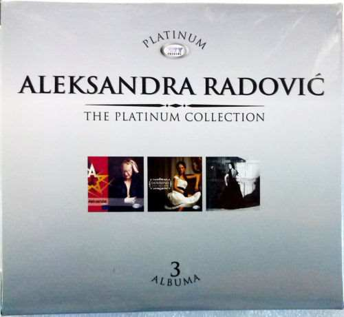 3CD ALEKSANDRA RADOVIC THE PLATINUM COLLECTION 2013 serbia city records