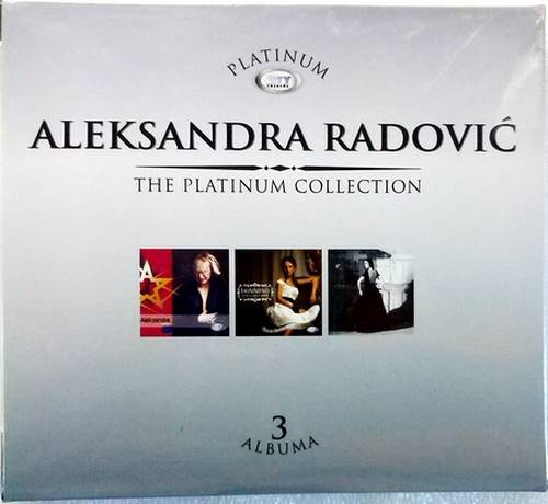 3CD ALEKSANDRA RADOVIC THE PLATINUM COLLECTION 2013 serbia city records