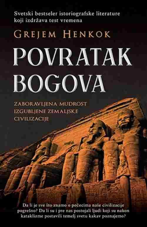 Povratak bogova Grejem Henkok knjiga 2018 popularna nauka edukativni laguna novo