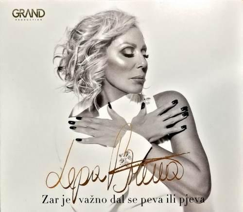 CD LEPA BRENA ZAR JE VAZNO DAL SE PEVA ILI PJEVA album 2018 grand srbija digipak