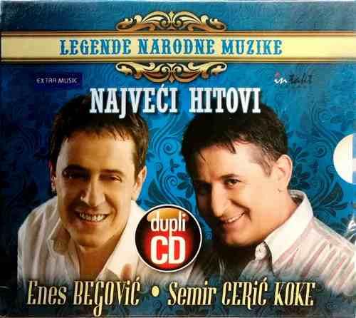 2CD ENES BEGOVIC SEMIR CERIC KOKE LEGENDE NARODNE MUZIKE KOMPILACIJA 2011 BOSNA