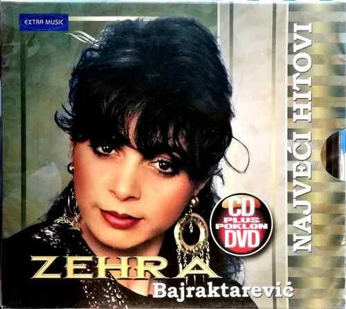 CD I DVD ZEHRA BAJRAKTAREVIC NAJVECI HITOVI EXTRA MUSIC NARODNA MUZIKA BOSNA