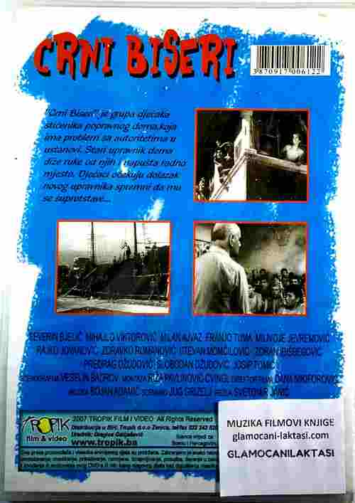 DVD CRNI BISERI FILM SVETOMIRA JANICA SEVERIN BJELIC MIHAJLO VIKTOROVIC TUMA