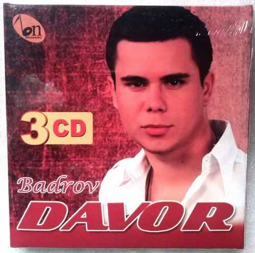3CD DAVOR BADROV 3 ALBUMA PO CENI JEDNOG krajiska pesma pjesma bn music