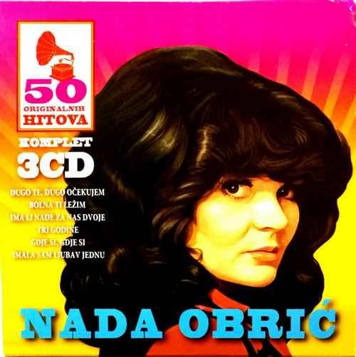 3CD NADA OBRIC 50 ORIGINALNIH HITOVA KOMPILACIJA 2018 NARODNA SRBIJA GOLD AUDIO