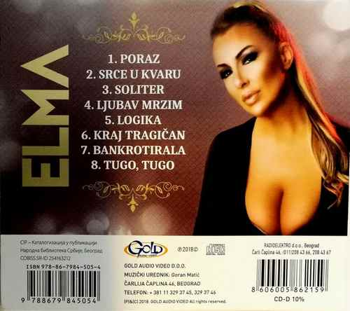 CD ELMA NESTO LICNO ALBUM 2018 GOLD AUDIO VIDEO SRBIJA NARODNA