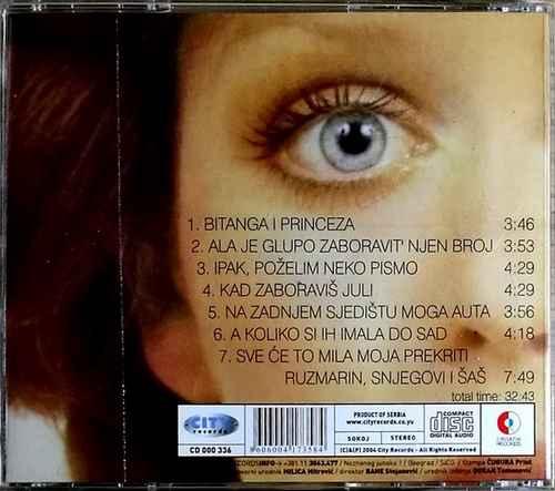 CD BIJELO DUGME BITANGA I PRINCEZA GORAN BREGOVIC