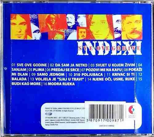 CD INDEXI SVE OVE GODINE DAVORIN POPOVIC BODO KOVACEVIC DJORDJE KISIC SARAJEVO