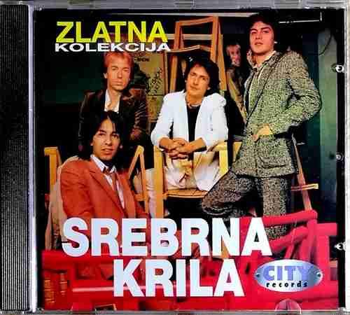 CD SREBRNA KRILA ZLATNA KOLEKCIJA VLADO KALEMBER POP MUZIKA