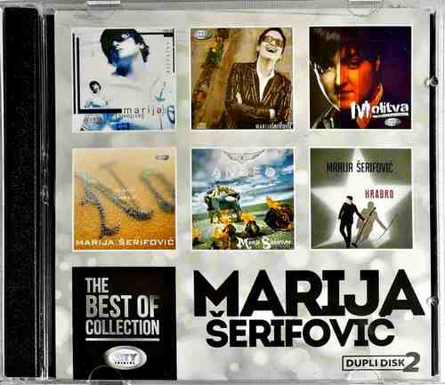 2CD MARIJA SERIFOVIC THE BEST OF COLLECTION 2018 CITY RECORDS ZABAVNA MUZIKA