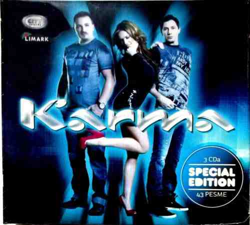 3CD KARMA  SPECIAL EDITION compilation 2014 City records Serbia Croatia Bosnia