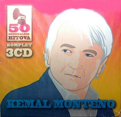 3CD KEMAL MONTENO  50 ORIGINALNI​H PJESAMA compilatio​n 2014 gold audio digipak