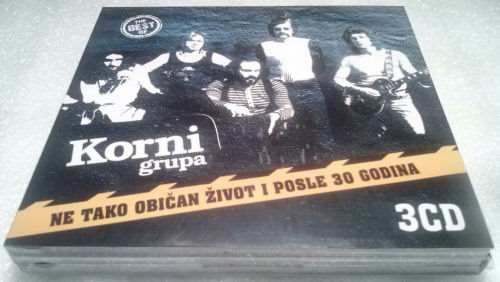 3CD KORNI GRUPA  THE BEST OF NE TAKO OBICAN ZIVOT I POSLE 30 GODINA  remastered
