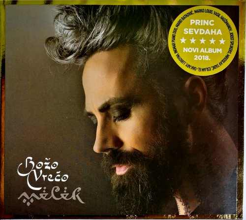 CD BOZO VRECO MELEK ALBUM 2018 KRALJ SEVDAHA GOLD AUDIO VIDEO LICENCA CRO RECORD